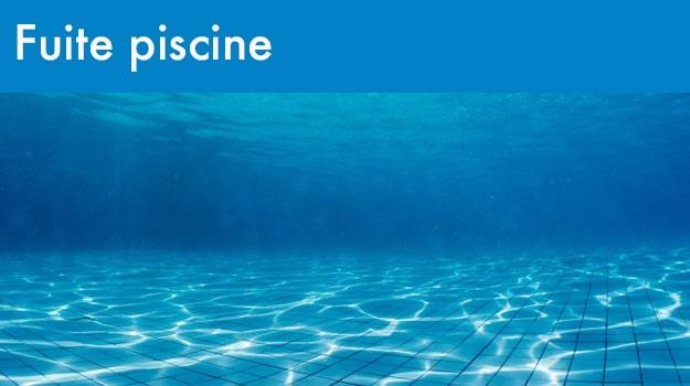 Rénovation piscine : fuite piscine