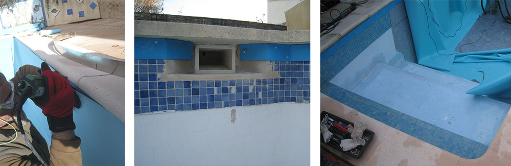 R novation piscine r novation piscine de pertuis for Renovation liner piscine